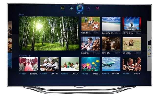 nuevo interfaz samsung smart tv