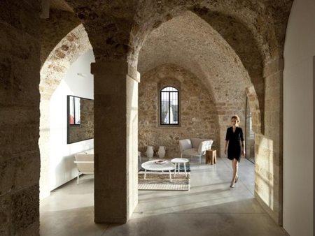 Casas que inspiran: viviendo en un edificio histórico de Tel Aviv