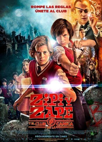 El cartel de Zipi y Zape y el Club de la Canica