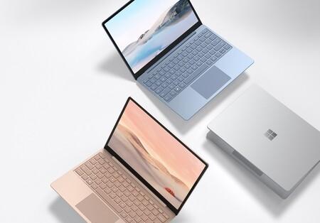 """Surface Laptop Go, la laptop """"barata"""" de Microsoft ya está aquí: pantalla táctil, Intel Core 10a generación y 13 horas de batería"""