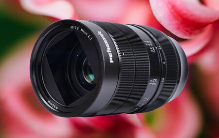 Pergear 60mm F2.8 Ultra-Macro 2X, nueva óptica de bajo coste para iniciarse en macrofotografía con mirrorless de sensor recortado