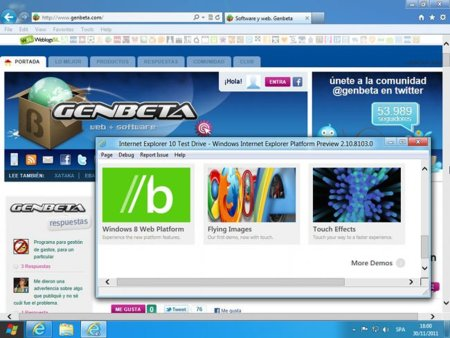 Internet Explorer 10 platform preview 4, listo para descargar