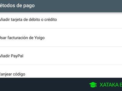 Cómo configurar un método de pago Google Play