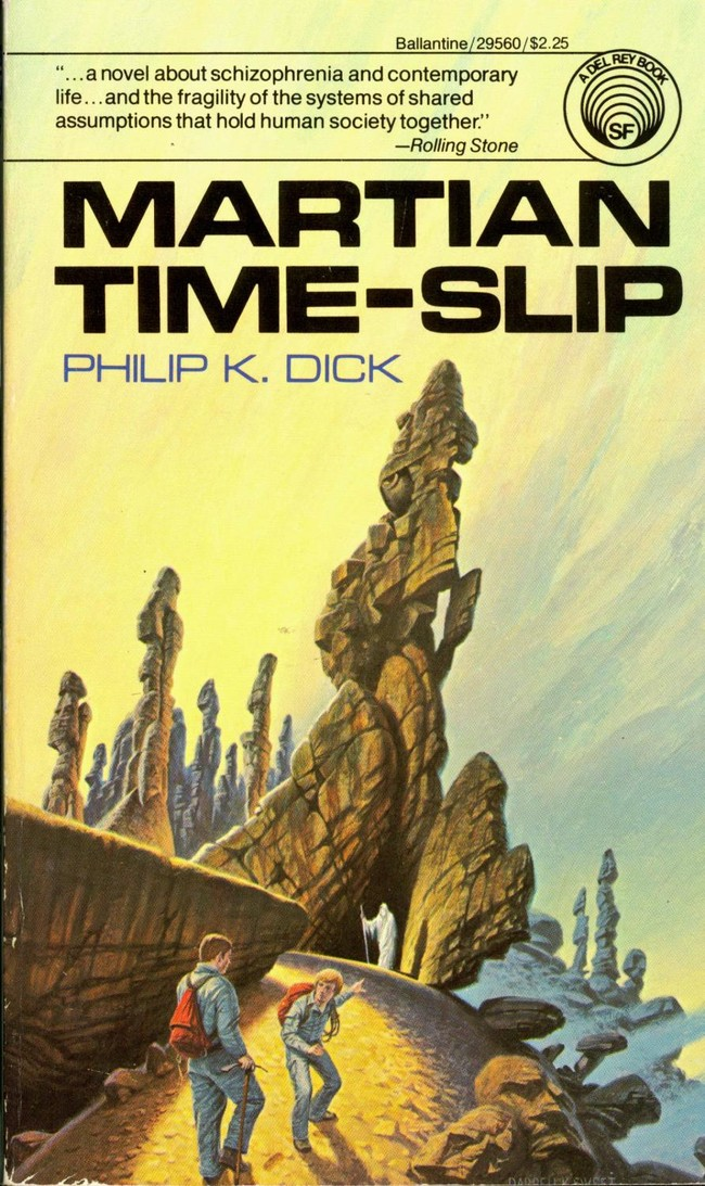 Martian Time Slip 1981