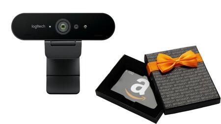 Envíanos tus dudas sobre la Logitech Brio Webcam: participa en el sorteo y gana una tarjeta regalo de 150 euros en Amazon