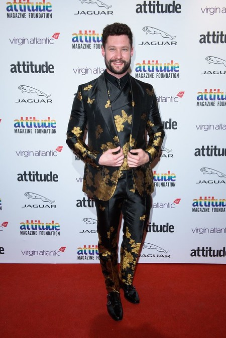 Calum Cott Joshua Kane Attitude Awards 2019 Red Carpet London