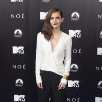 Emma Watson en la premiere de Noé