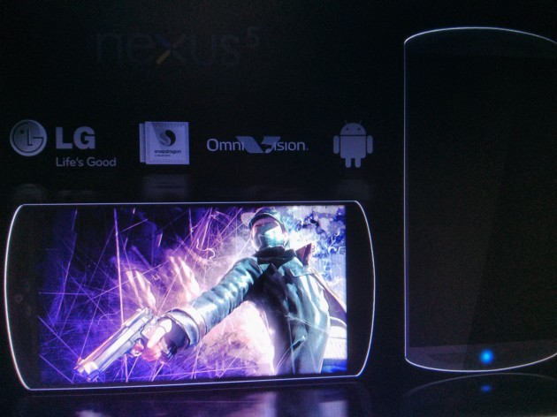 LG Nexus 5 - prototipo
