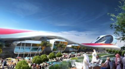 Parque temático Ferrari en los Emiratos Árabes, ¿dónde sino?