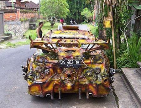 El coche del Averno