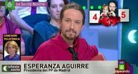 No es cierto que los votantes de Podemos sean 'frikis': lo son todos #RepitaConmigoSñraAguirre