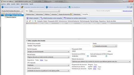 AdWords Editor amplía funcionalidades en su versión 9.5