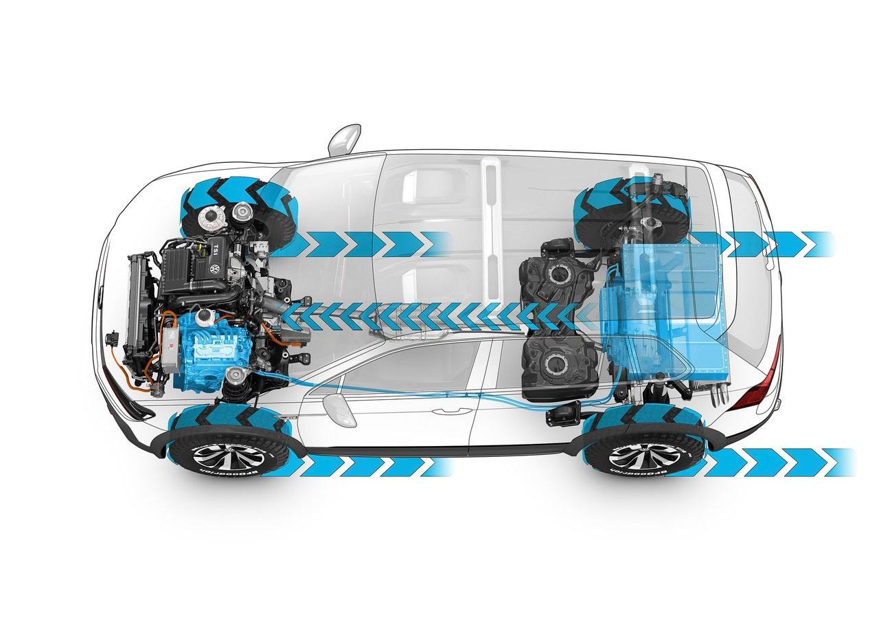 Foto de Volkswagen Tiguan GTE Active Concept (16/17)