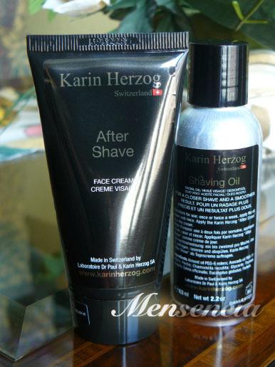 Karin Herzog y sus productos para el afeitado