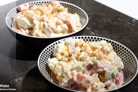 Ensalada de patata con mayonesa japonesa