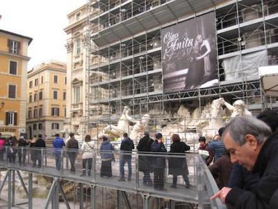 La Fontana di Trevi despide a Anita Ekberg