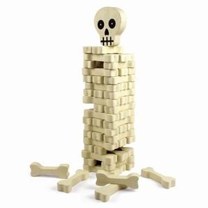 Jenga de esqueleto