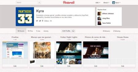 Pinterest rediseña los perfiles de los usuarios