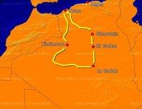 I Ruta Oasis Argelinos, 4.000 kilómetros de aventura