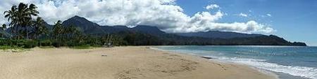 Hanalei Beach, una de las playas más hermosas de los Estados Unidos