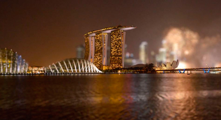 'The Lion City' la técnica tilt-shift evoluciona en este ingenioso timelapse de Singapur
