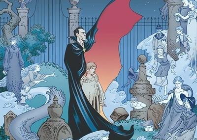 Especial Halloween: 'El libro del cementerio' de Neil Gaiman en novela gráfica