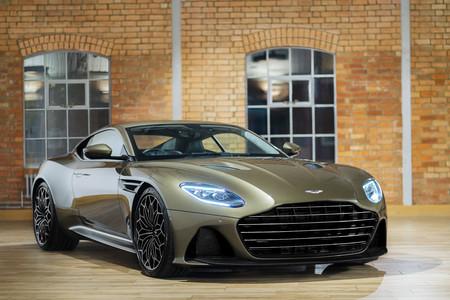 Aston Martin Dbs Superleggera On Her Majestys Secret Service 6