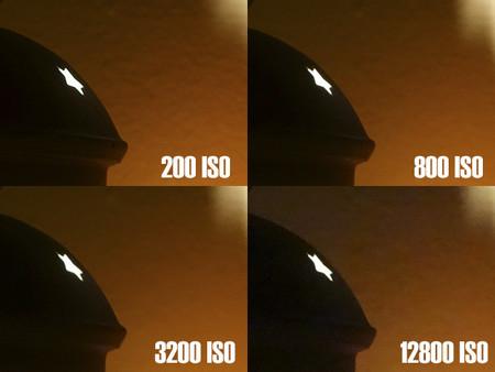 Sony RX100 II - muestras isos