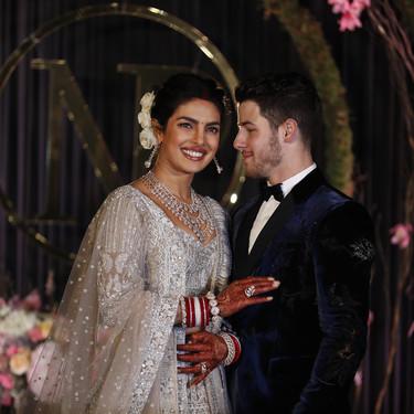 La interminable boda de Priyanka Chopra y Nick Jonas. Así ha sido su cuarto vestido de novia