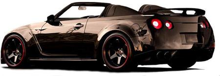 Newport Convertible Engineering ofrece el Nissan GT-R descapotable