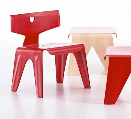 sillas y taburetes de juegos
