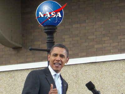 Obama cancela vuelos a la Luna para reducir el déficit
