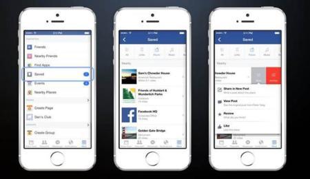 Facebook Save guarda el contenido que quieras leer más tarde