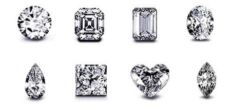 Tallas de diamantes