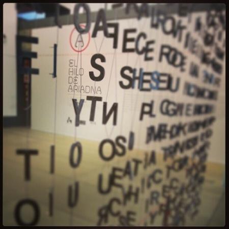 Hemos estado en el taller para familias en la Casa del Lector de Madrid llamada El hilo de Ariadna. Lectores, navegantes