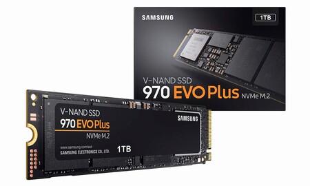 Amazon te deja un SSD interno como el Samsung 970 Evo Plus de 1 TB a unos rebajadísimos 154,90 euros