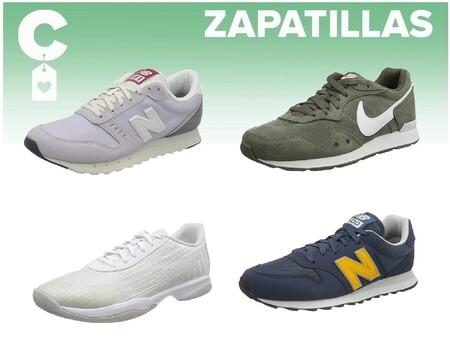Chollos en tallas sueltas de  zapatillas New Balance, Reebok, Nike o Puma en Amazon