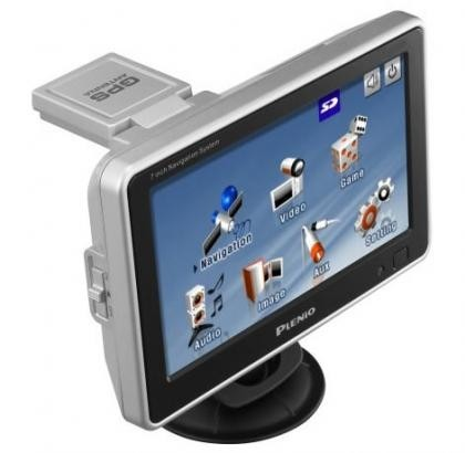 Plenio VXA3000, 7 pulgadas de GPS
