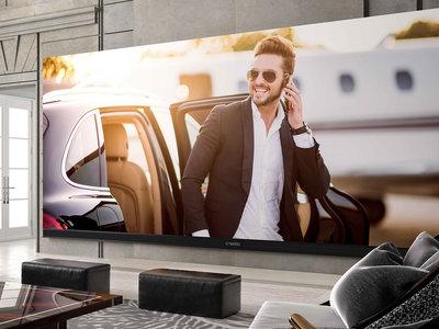 La tele más grande que puedes comprar tiene 262 pulgadas, posiblemente cueste más que tu casa