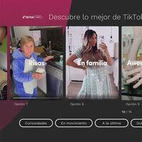 Los vídeos cortos de TikTok llegan a Movistar+ en la nueva 'Living App' fruto de la alianza con Telefónica