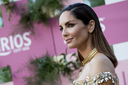 Eugenia Silva cubierta de lentejuelas con un diseño de Palomo Spain es lo más impresionante que verás hoy