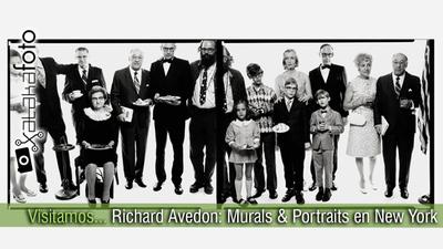 Visitando... Richard Avedon: Murals & Portraits en Gagosian Gallery de New York