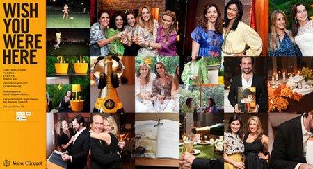 """Veuve Clicquot publica las fotos de tus celebraciones """"wish you were here"""""""