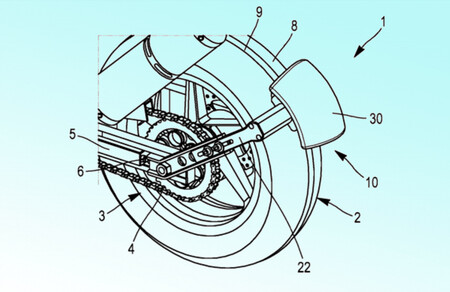 Michelin patenta un dispositivo que permitiría maniobrar con la moto a baja velocidad, también marcha atrás