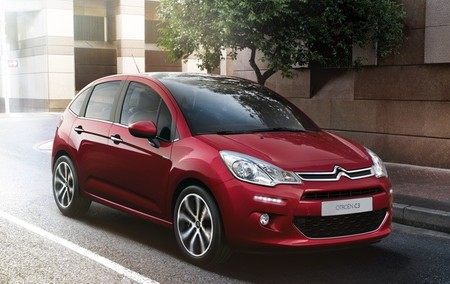Citroën C3 2013 rojo exterior 14