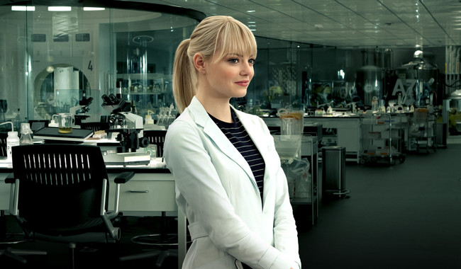 Emma Stone As Gwen Stacy Wide 02