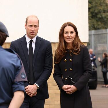 Kate Middleton y el príncipe Guillermo continúan su agenda real rindiendo homenaje al duque de Edimburgo
