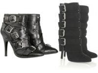 Calzado de otoño: botas y botines multibroches