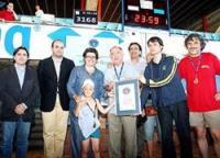 Natación en Mallorca: Récord Guiness contra la drogadicción