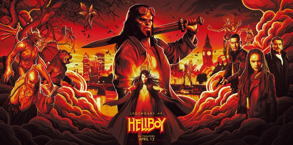 'Hellboy', a fun and violent ride through the neighborhoods lowest of the series b horror